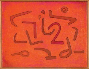 Paul Klee 'Zerstörtes Labyrinth'